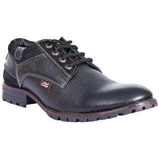 Allen Cooper AC-001 Black Mens Formal Shoes