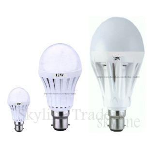 Led Bulb combo (3W+15W+18W)  get high quality 5W free