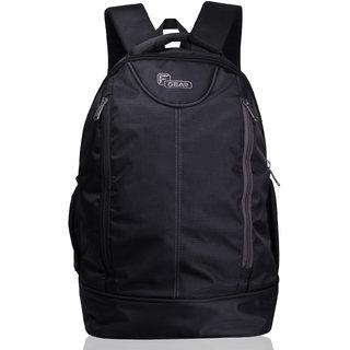 F Gear Booster Lite 29 Liters Laptop Backpack(Black Grey)