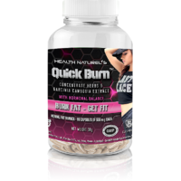 Health Naturels QUICK BURN For Her With Hormonal Balance (Herbal Fat Loss Pills)