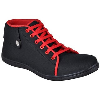 Hm Men's Red Stylish Casual Shoes - Option 17