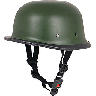 World War 2 Style Half helmet (Matte Military Green) 1YR WARRANTY