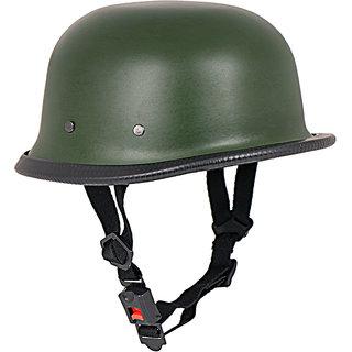 World War 2 Style (Matte Military Green) helmet  1YR WARRANTY