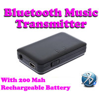 Gadget Hero's Bluetooth 3.5mm Audio Music Transmitter Adapter A2DP