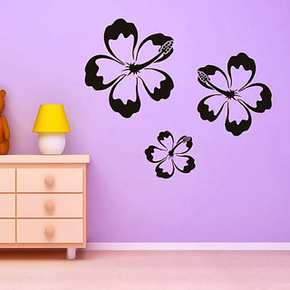 DeStudio Lilies Print TINY Size Wall Decals  Stickers  (45cms x 60cms)