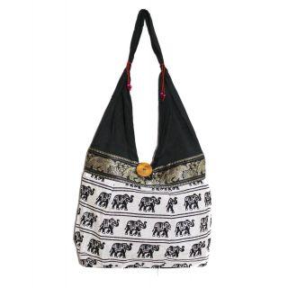Rajsthani Handicraft Womens Shoulder / Hand Bag(SFP15HCB05)