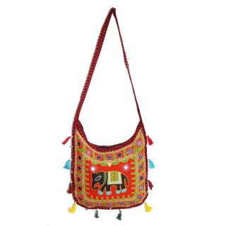 Rajsthani Handicraft Womens Shoulder / Hand Bag(SFP15HCB06)