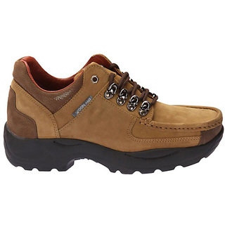 Woodland Robust Camel Brown Casual Shoes