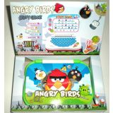 Angry Bird Laptop Educational Electronic English Learning Mini Laptop For Kids