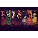 Jimi Hendrix Colors - Musician Poster