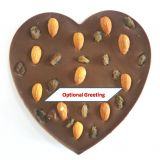 Fruit and Nut Heart Chocolate