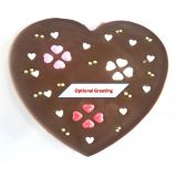 Lovely Love Heart Milk Chocolate