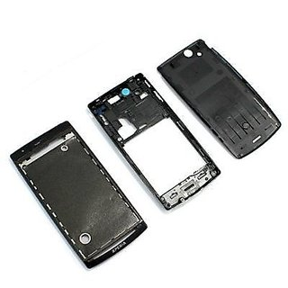 New Full Housing Body Panel - Sony Ericsson Arc s LT18i - Black