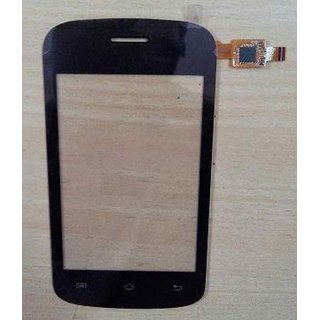 Touch Screen for Lava Iris 349i - Black
