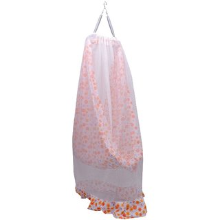 Baby Net Cradle Swing Jhula Floral with Mosquito net