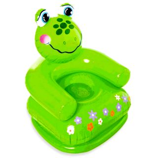 Intex Kids Toy Inflatable Animal Shaped Frog Sofa Chair