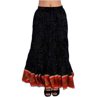 Printed Cotton full Wrap round Skirt for womens/Girls
