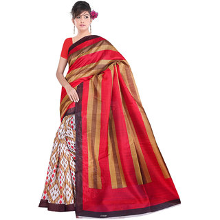 Lovely Look Multi Printed Saree LLKGPS5196