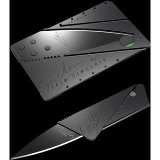 Sinclair Cardsharp  Credit-Card Sized Knife