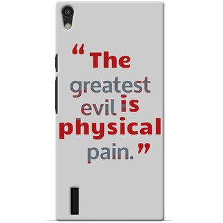 SaleDart Designer Mobile Back Cover for Huawei Ascend P7 HAP7KAA655
