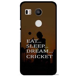 Snooky Designer Print Hard Back Case Cover For LG Google Nexus 5X
