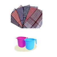 Combo of 5 Kitchen Napkins & Plastic MUG
