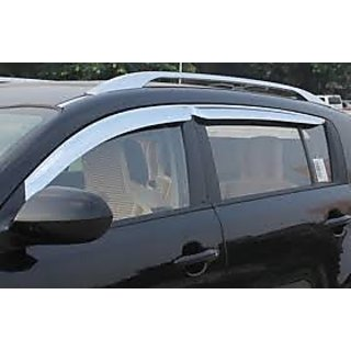 Chrome Plated Car Door Visors/Rain /Wind Deflector set of 4 for Swift Dzire
