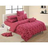 Elements Bed Of Pink Flowers Comforter N Bed Sheet Set