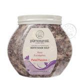 Purnaturals Petal Passion Bath Soak Spa Salt 350ml 0035067 100 Natural