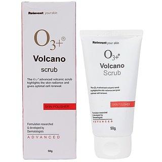 O3+Volcano Scrub Skin Polisher-50gm