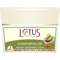 Lotus Herbals Almondyouth Almond Anti-Wrinkle Cream 50 G