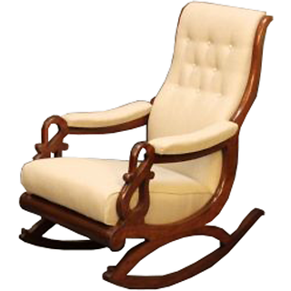 home kitchen furniture living room furniture chairs rocking chair