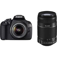 Canon EOS 1200D Kit (EF S18-55 IS II + 55-250 Mm IS II) SLR - 2914046