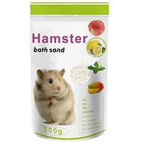 Anokhe Collections Bath Sand for Hamster / Dwarf / Gerbil / Chinchila Pet Litter Tray Refill