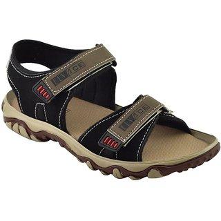 Elvace Black Butu sandal Men Shoes-4013