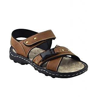 Elvace Tan Dukkal sandal Men Shoes-4014
