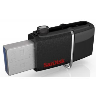 Sandisk Ultra Dual 16 GB On-The-Go Pendrive (Black)