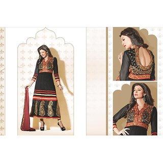 Bollywood Actress Sushmita Sen Designer Party Wear Semi Stitched Anarkali 11011