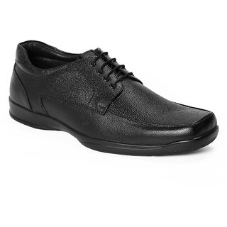 Redchief MenS Black Formal Lace-Up Shoes