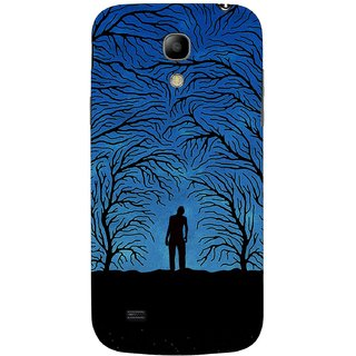 G.store Printed Back Covers for Samsung Galaxy S4 Mini Blue