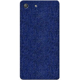 G.store Printed Back Covers for Sony Xperia M5 blue