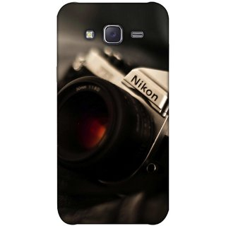 G.store Printed Back Covers for Samsung Galaxy J5 Black