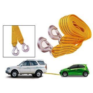 AutoSun - Car Auto Towing Tow Cable Rope Heavy Duty 3 Ton 3.5Mtr