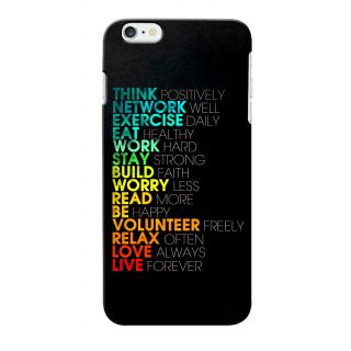 G.store Printed Back Covers for Apple iPhone 6S Multi