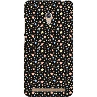G.store Printed Back Covers for Asus Zenfone 6 Black
