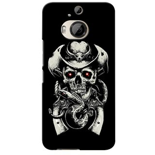 G.store Printed Back Covers for HTC ONE M9 Plus Black