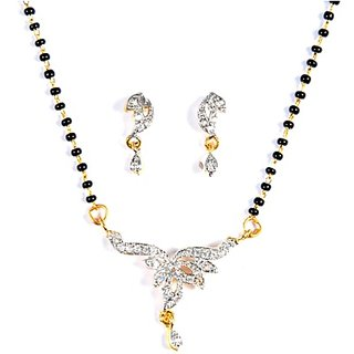 Dazzling Mangalsutra Set by Luxor available at ShopClues for Rs.137
