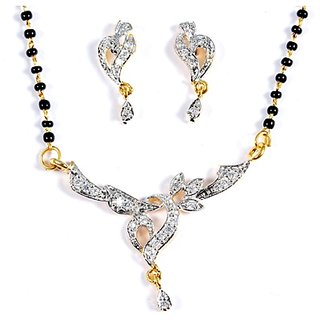 Stunning Mangalsutra Set by Luxor available at ShopClues for Rs.137