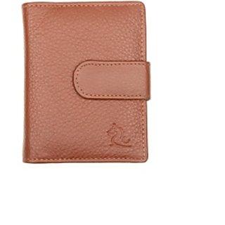 Kara Mens Wallet (9030 Tan Business Card Holder)