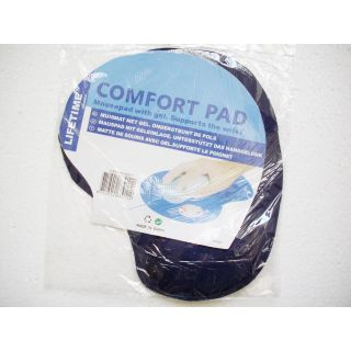 COMFORT MOUSE PAD WITH WRIST SUPPORT - MOUSE PAD WITH GEL